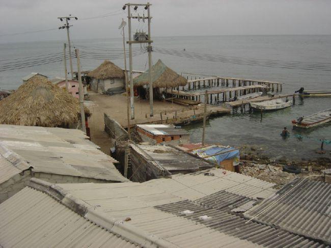 Santa Cruz del Islote – самый густонаселенный остров (Колумбия)