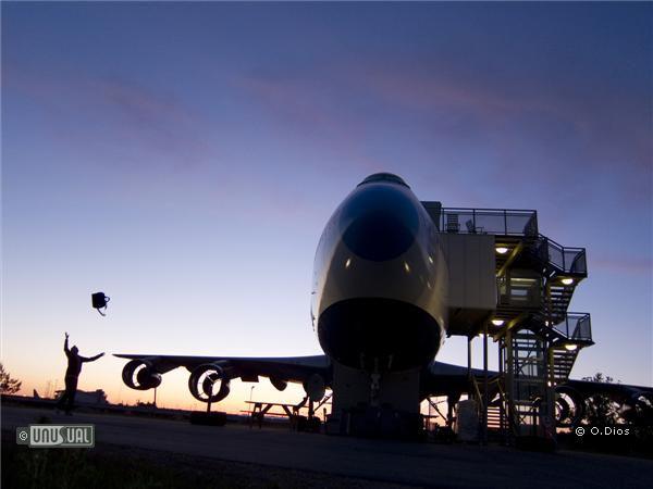 Jumbo Stay: самолет, превратившийся в отель (Швеция)