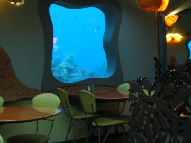 Red Sea Star: обед в подводном царстве (Израиль)
