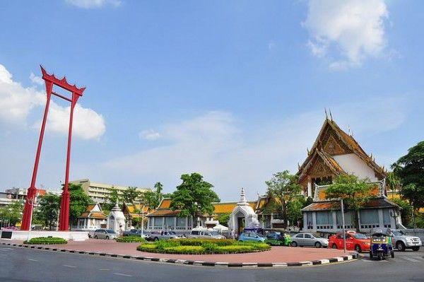 Гигантские Качели в Бангкоке (Таиланд)