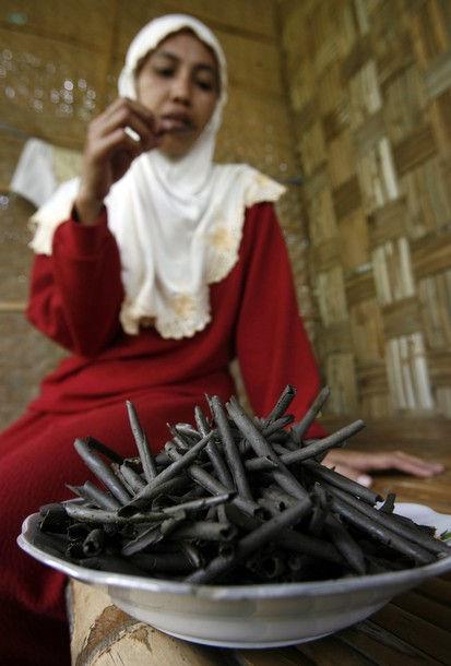 Деревня Табан: место, где едят землю (Индонезия)