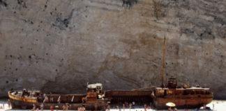 Бухта Контрабандистов – самый известный пляж в Греции