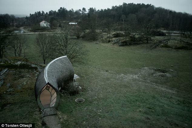 Hus-1: мини-экодом на двоих (Швеция)