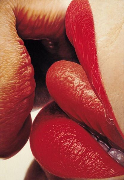 Чувственные губы от Ким Сунг Джин (Корея)