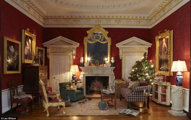 Рождественская комната шириной в 6,7 сантиметров (Англия)