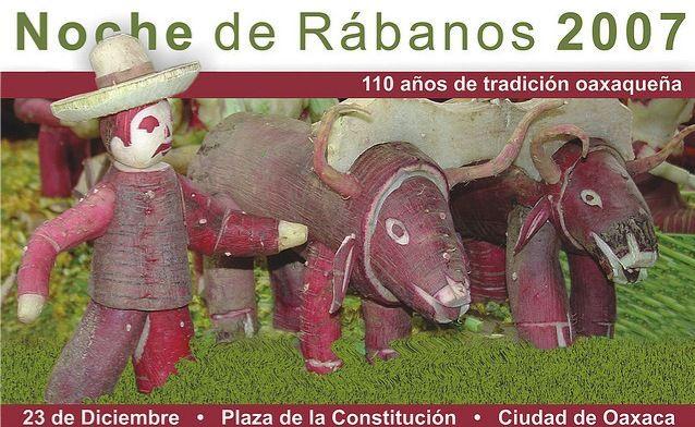 Овощной праздник «Ночь Редиски» (Испания)
