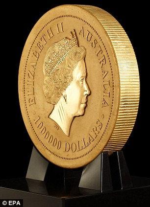 Самая тяжелая монета в мире (Австралия)