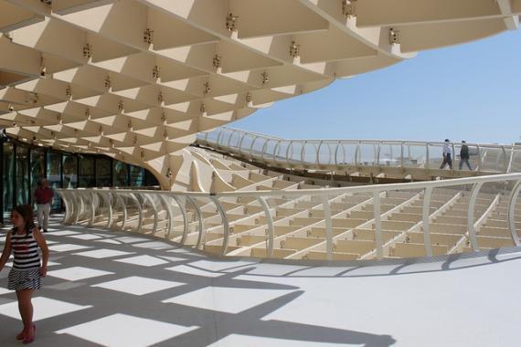 Metropol Parasol: самое большое деревянное здание мира (Испания)