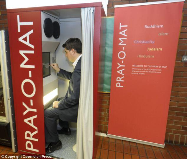 Pray-o-mat: молитвенный автомат для всех религий (Англия)