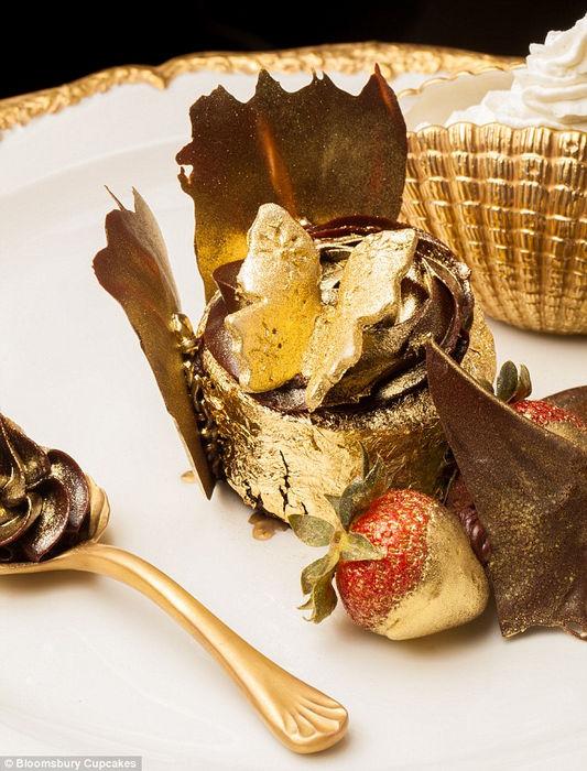 Golden delicious: самый дорогой съедобный десерт в мире (ОАЭ)