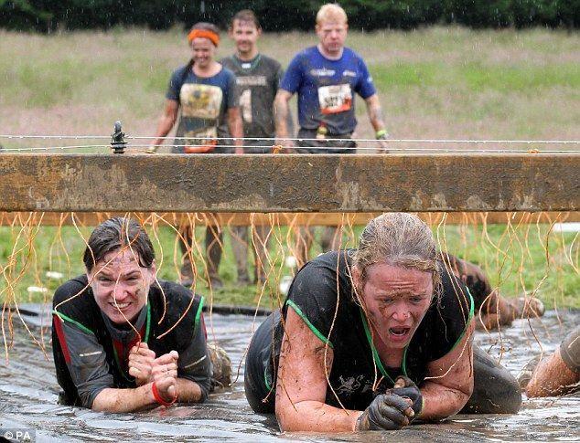 Tough Mudder: гонки на выживание 2012 (Англия)