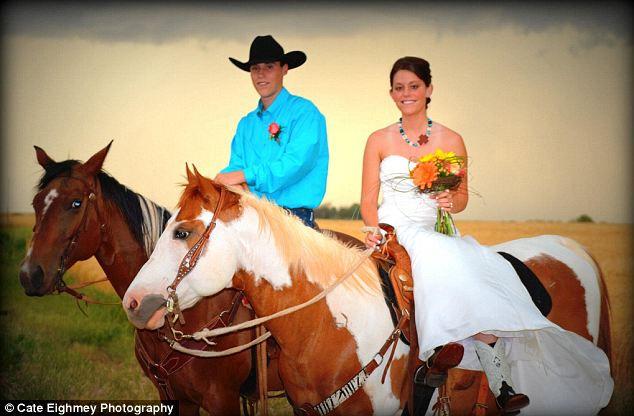 Свадьба на фоне торнадо (США)
