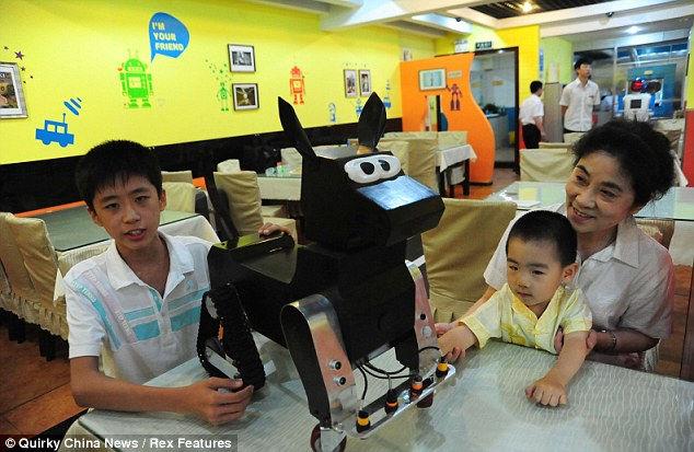 Ресторан Роботов: будущее, которое стало  реальностью (Китай)