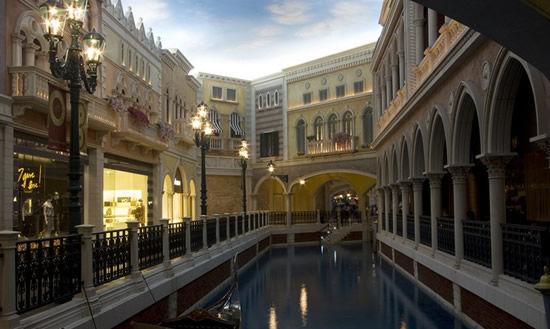 Venetian Macao: самое большое казино в мире (Китай)