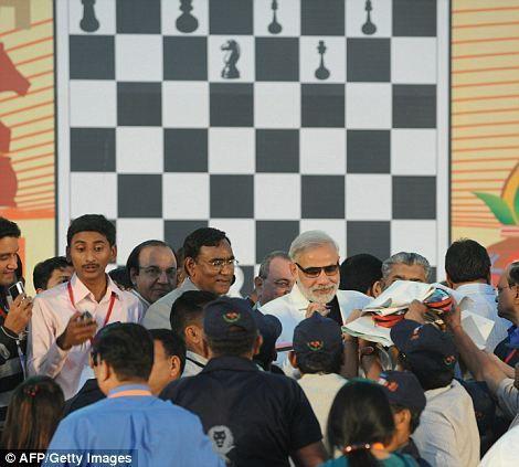 Самый многочисленный шахматный турнир (Индия)