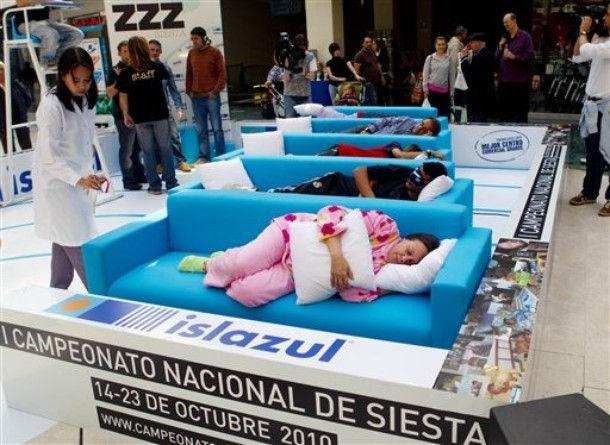 Первый национальный чемпионат по сиесте (Испания)