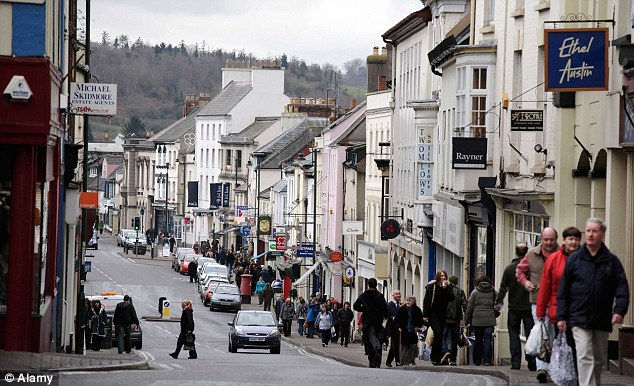 Монмут: город, который перенесли в Википедию (Англия)