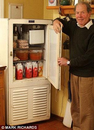 Действующий холодильник, которому скоро 100 лет (Англия)