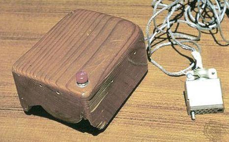 Первая в мире компьютерная мышь (Америка)