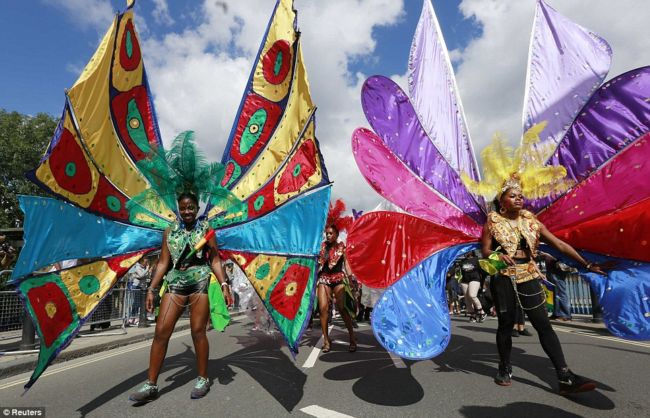 Карнавал Ноттинг Хилл 2012 (Англия)