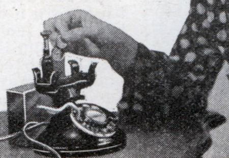 Таксофон для дома (март, 1933)
