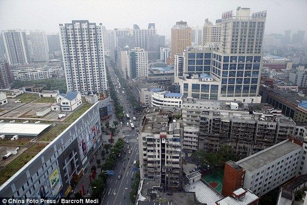 Чжучжоу: виллы на крыше торгового центра (Китай)
