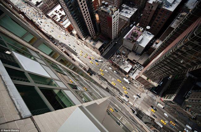 Нью-Йорк с высоты небоскребов от Навида Барати (Navid Baraty)