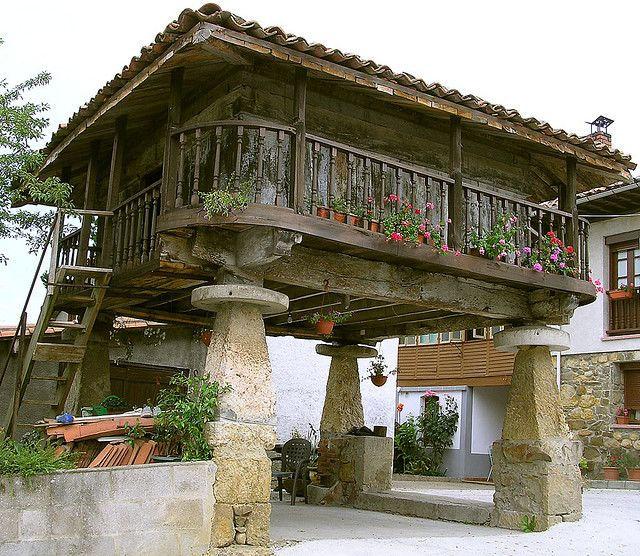 Оррео (нórreo) сельскохозяйственный символ Испании