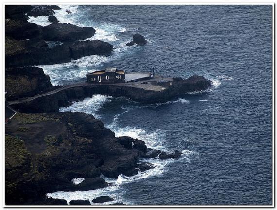 Punta Grande: самый маленький отель в мире (Канарские острова)