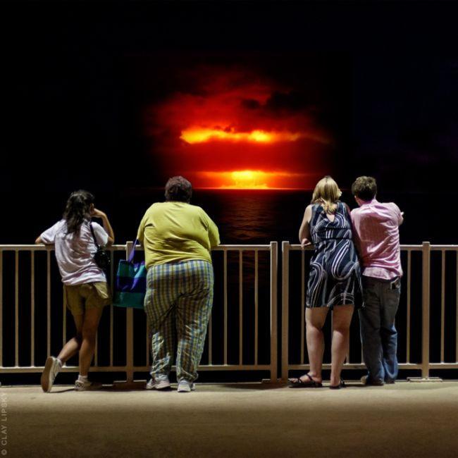 Ядерные взрывы как туристические объекты от Клея Липски (Clay Lipsky)
