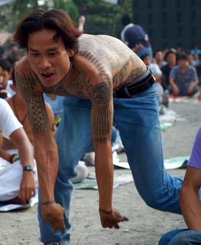 Фестиваль татуировок (Таиланд)
