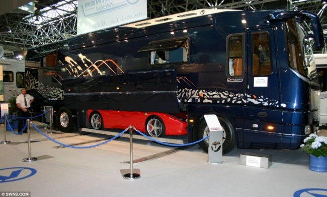 Volkner Mobil Performance Bus: самый дорогой дом на колесах
