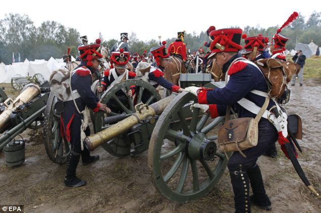 Реконструкция Бородинской битвы 2012 (Россия)
