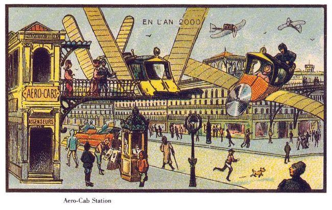 Франция в 2000 году: взгляд из 1900 года
