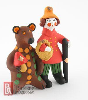 Дымковская игрушка: самобытный символ Вятского края