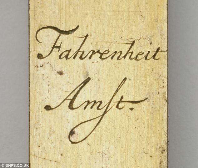 Термометр Фаренгейта, которому 300 лет