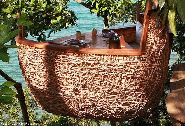 Sonova resort: ужин на верхушках деревьев (Таиланд)