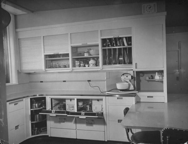 Кухня будущего в 1946 году (США)
