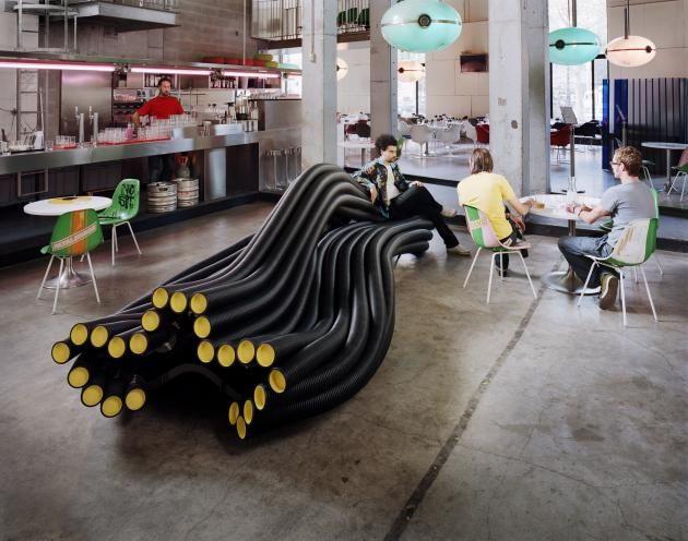 Мебель из труб от Себастиана Веринка (Sebastien Wierinck)
