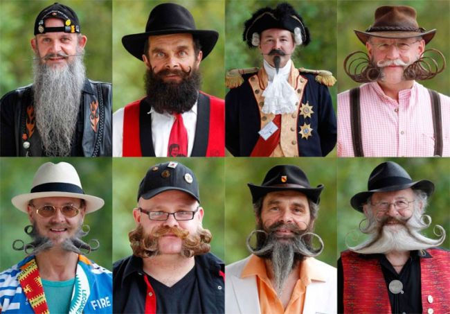 Европейский чемпионат бород и усов 2012 (Франция)