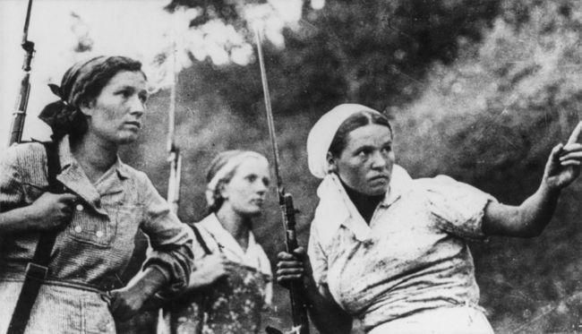 Вторая мировая: женщины на войне