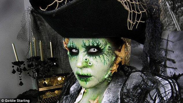 Макияж для Хэллоуина от Энджи Старлинг