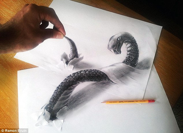 3D рисунки от Рамона Брайна (Ramon Bruin)
