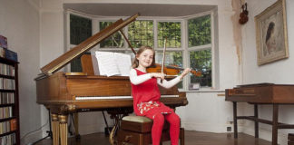 Алма Дотчер, сочинившая оперу в 7 лет (Англия)