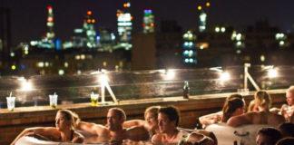Hot Tub Cinema: кинотеатр в горячих ваннах (Англия)
