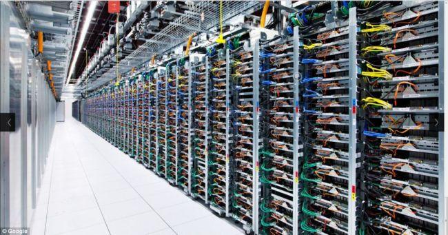 Внутри интернета: фотографии дата-центров Google (США)