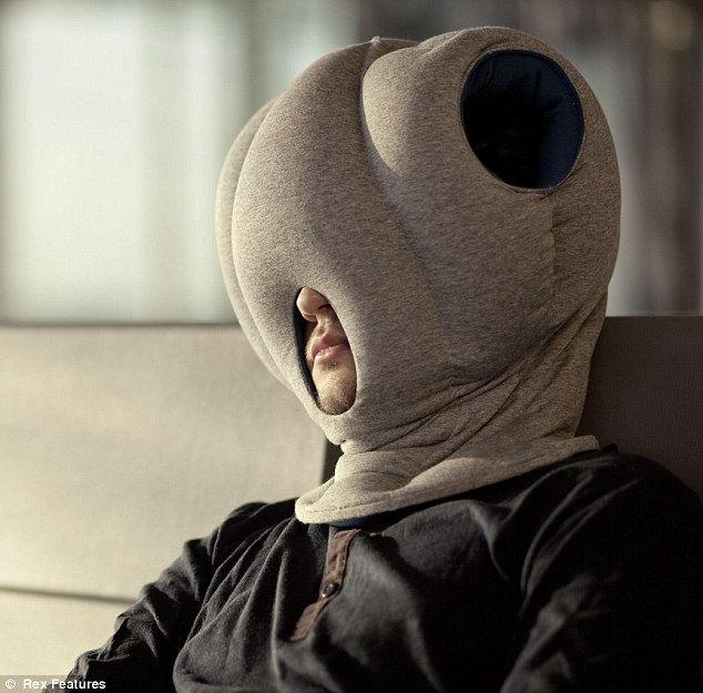 Подушка страуса: удобный сон в любом месте (Испания)