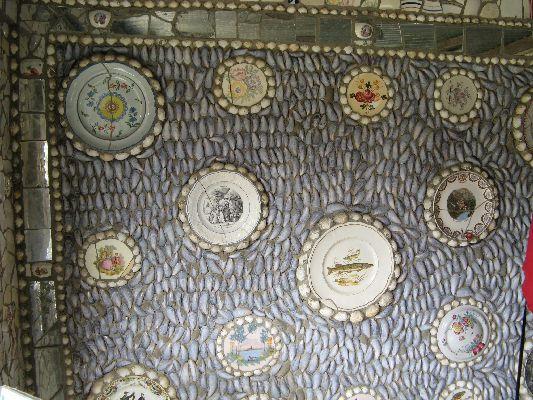 La Maison Cassée Vaisselle: дом разбитой посуды (Франция)