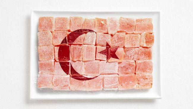 Флаги из продуктов питания (Австралия)