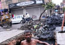 Деви Лал: канализационный ныряльщик (Индия)